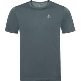 Odlo Cardada Kortærmet T-shirt Herrer grå